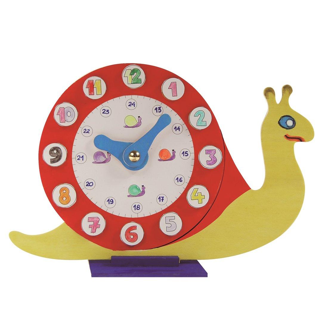 Reloj caracol tradid traditecno - Manualidades relojes infantiles ...