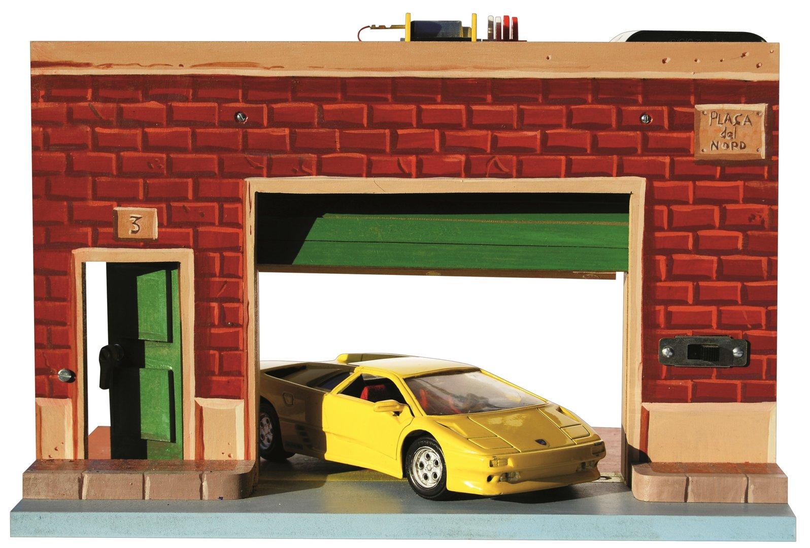 Puerta de garaje tradid traditecno for Construir puerta corredera